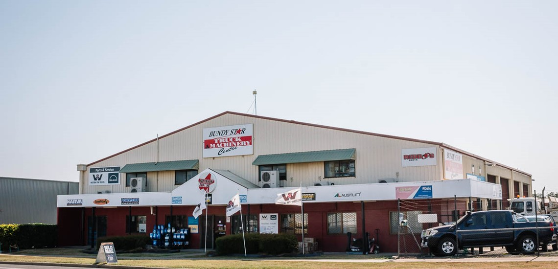 The Bundy Star Truck & Machinery Centre storefront