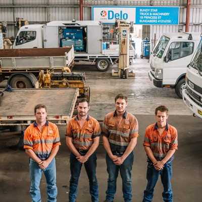 Our repairs team in our warehouse